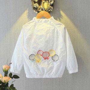 女童刺绣春装2020新款韩版洋气夹克