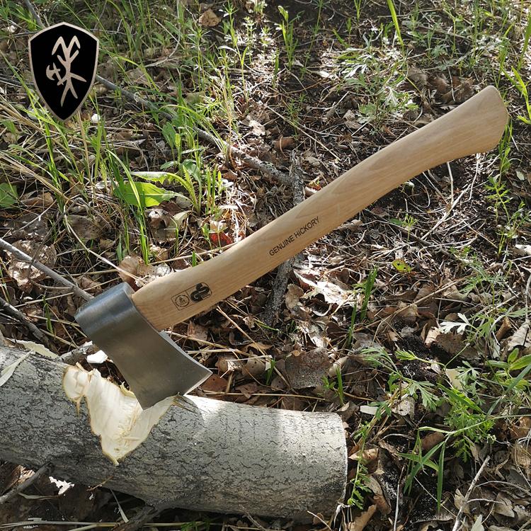 户外大号野营地高碳钢小手斧丛林斧