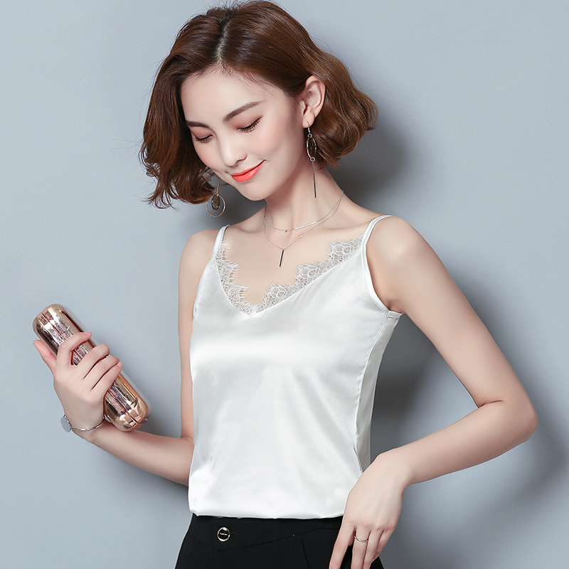Lace suspender vest for women in summer