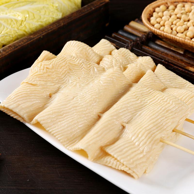 豆腐串干豆干串豆皮串麻辣烫火锅烧烤炸串食材素肉豆制品干货包邮