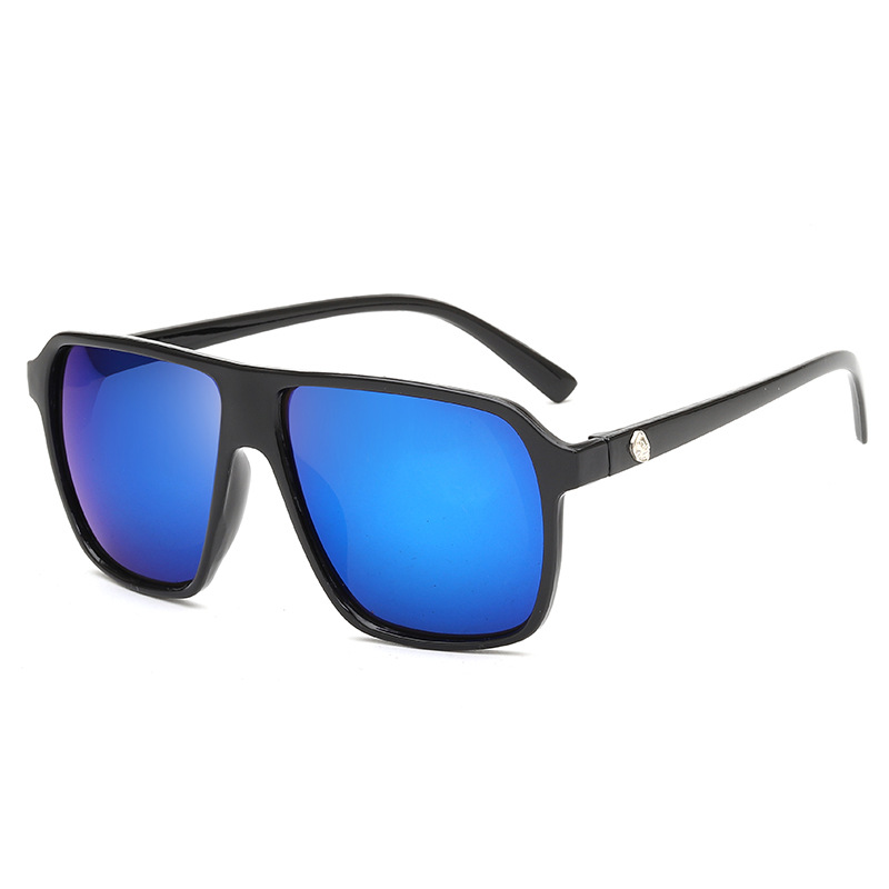 Fashion mens Sunglasses big frame fashion skull head reflector Sunglasses mercury Sunglasses package mail
