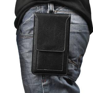 适用于华为nova 6 5G男士穿皮带腰包畅享10e手机包袋双层nova 6SE