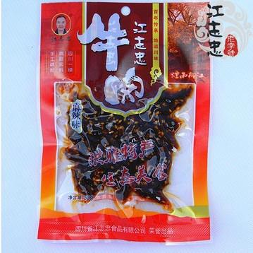 四川特产江志忠麻辣牛肉干零食超实惠装50g