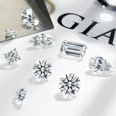 宝石矿工 1克拉GIA裸钻定制钻戒正品 一克拉真钻婚戒钻石戒指女