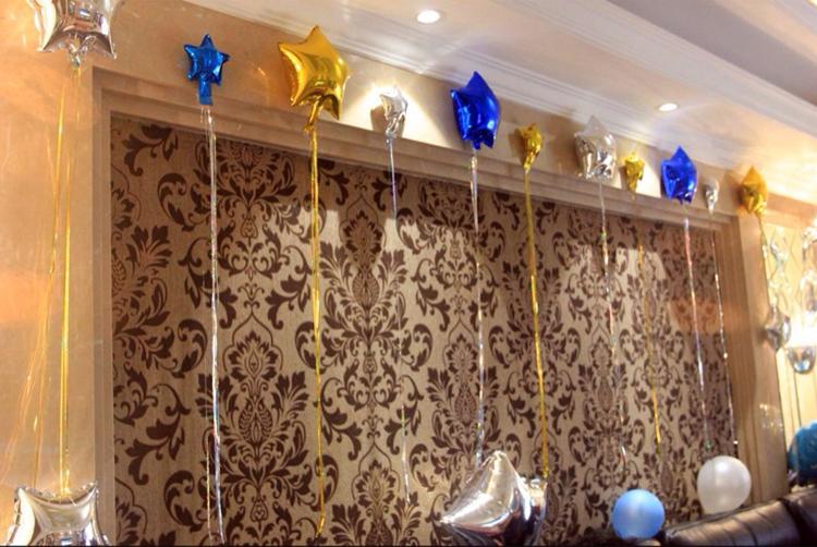 结婚婚房流苏彩条雨丝气球 商场活动布置生日派对七夕情人节装饰
