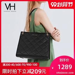 【6期免息】VH女包2020新款真皮潮手提包单肩斜挎包大容量托特袋