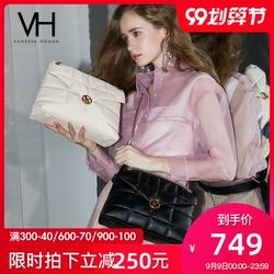 【新品首发】VH女包2020新款轻奢真皮手提包时尚斜挎包百搭单肩包