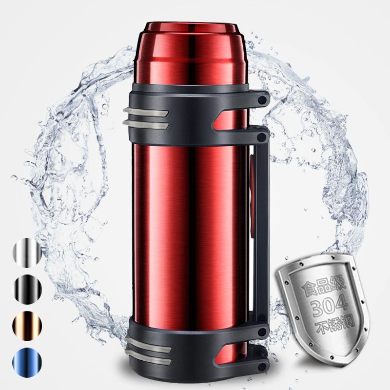 超大容量24小时超长保温杯3000ml暖水壶2500特大号水杯子便携家用