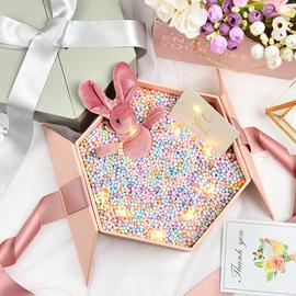 新年礼品盒生日礼物包装盒子送女友闺蜜口红香水伴手礼物盒子空盒图片