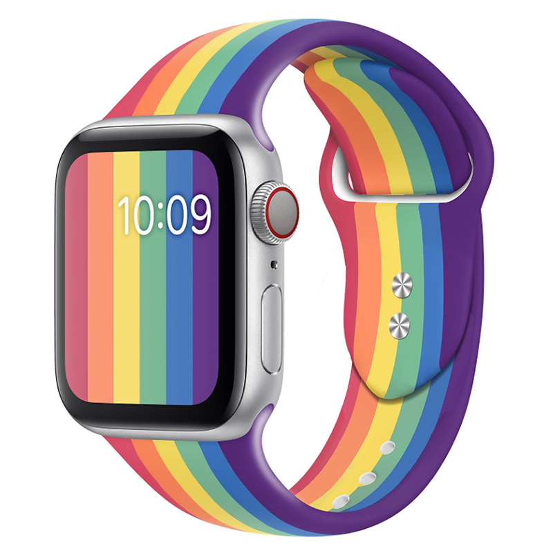 Suitable for Apple watch S6 / SE with silicone, iwatch2 / 3 / 4 / 5 with cartoon