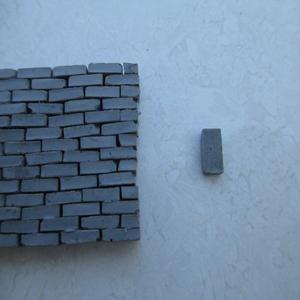 模型砖块建筑微缩景观仿古青砖DIY沙盒拼装小比例1比35二战场景