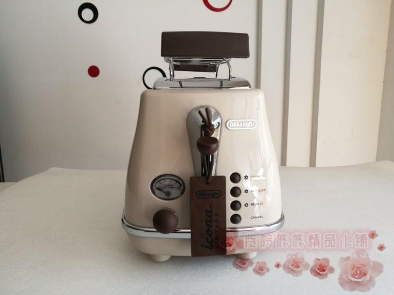 意大利Delonghi/德龙 CTO2103 家用多士炉吐司机2003烤面包机