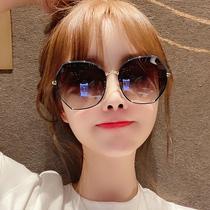 韩版潮防紫外线偏光ins太阳眼镜圆脸大脸显瘦2020年新款女士墨镜