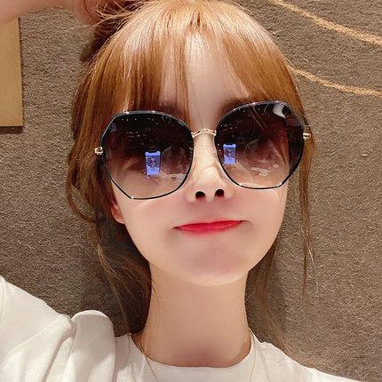 2020年新款女士墨镜 韩版潮防紫外线偏光ins太阳眼镜圆脸大脸显瘦