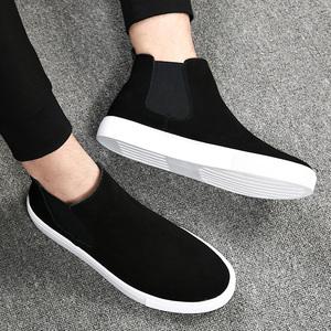 男鞋春季2021新款马丁靴男高帮鞋男士中帮男靴子英伦风鞋子男潮鞋