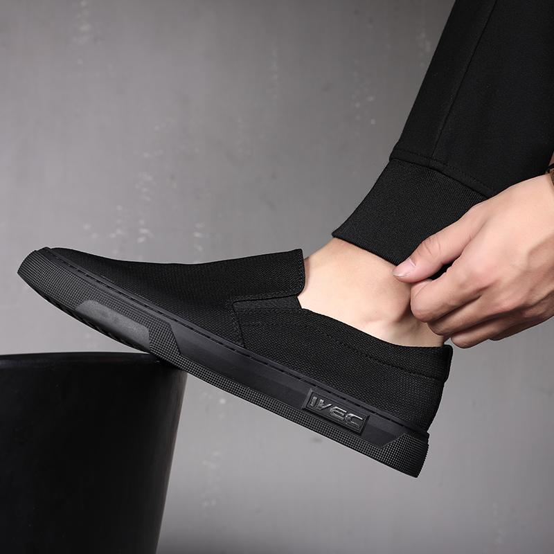 一脚蹬懒人鞋男潮鞋