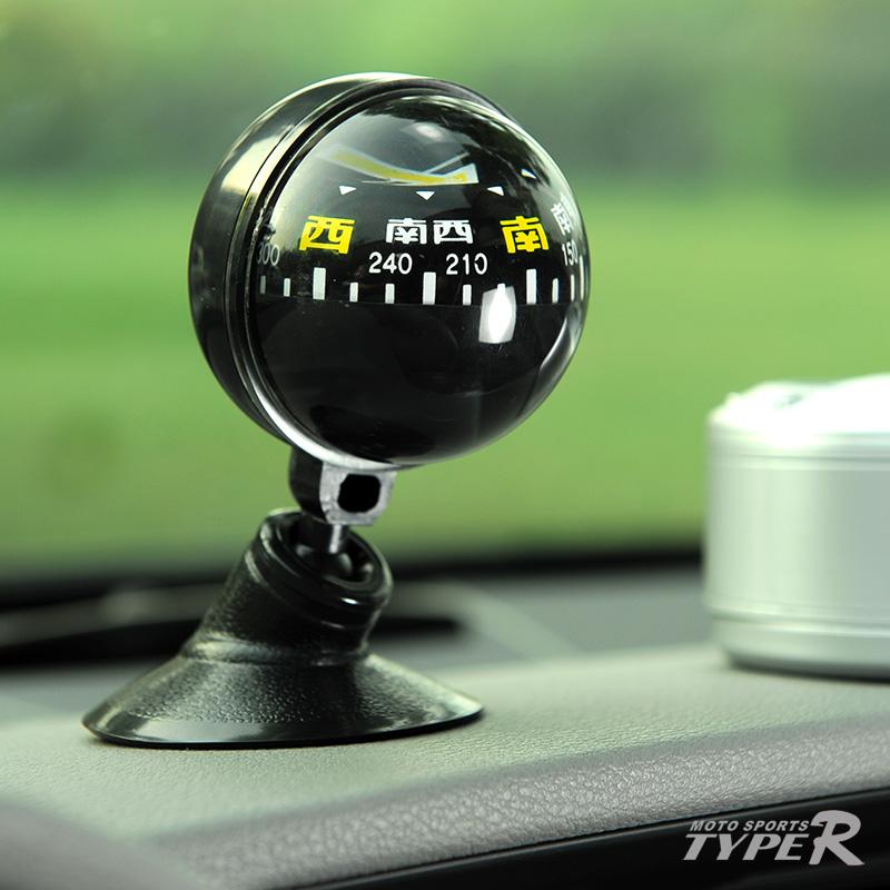 [TYPER汽车用品车用指南] стрелка [ 吸盘式360度旋转车载指南球汽车指南] стрелка