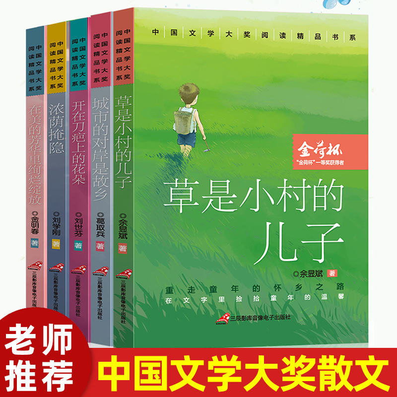 All 5 excellent reading books of China literature award is the son of a small village. The other side of the city is the reading items of the hometown high school entrance examination. The primary and secondary school students extracurricular reading ability, literary literacy and prose books are improved