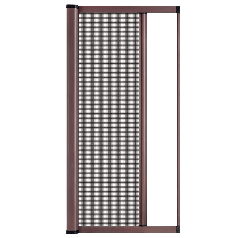 众冉纱窗隐形防蚊纱窗网磁性推拉式卷帘伸缩铝合金门窗纱窗网自装