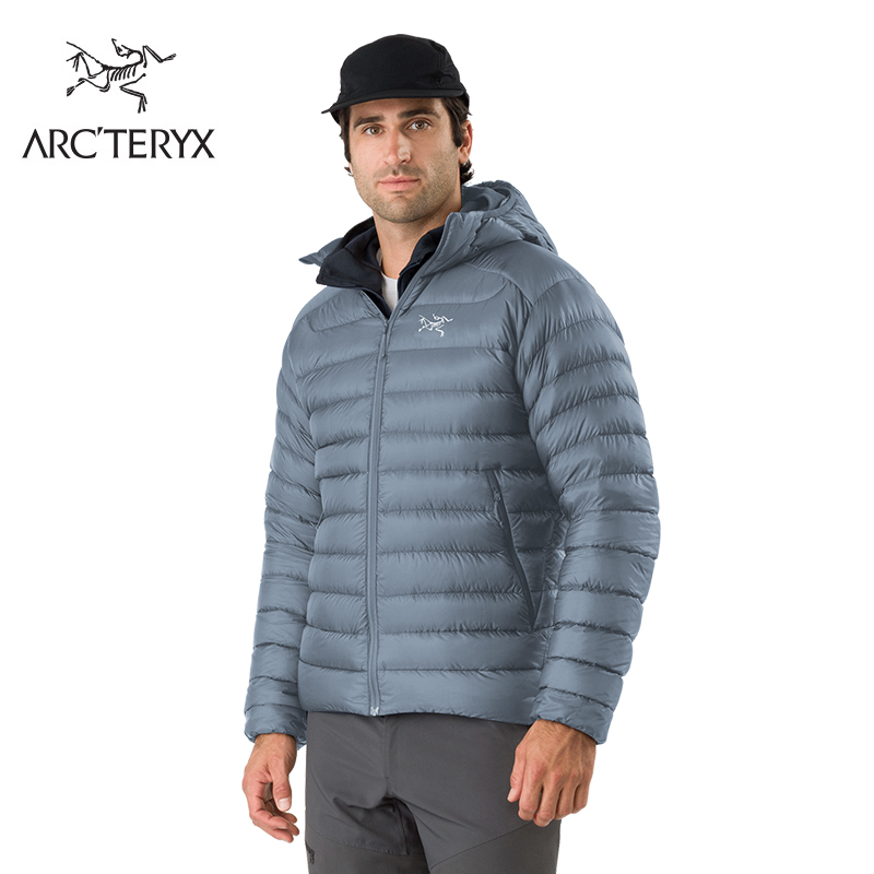 Archeryx Archaeopteryx men's short hooded warm casual velvet down jacket cerium LT food
