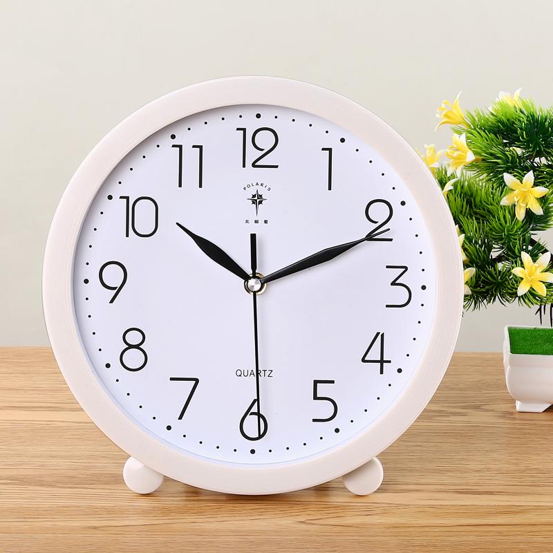 北极星座钟摆钟客厅大挂钟现在简约创意个性台式钟静音摆件时钟表