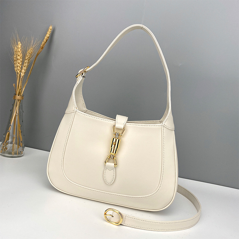 Jackie 1961 underarm bag Jackie 1961mini bag Vintage Gold Lock classic handbag one shoulder womens bag