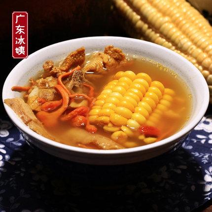 虫草花干贝玉米汤 经典美味汤水 广东煲汤材料 虫草花 炖汤食材