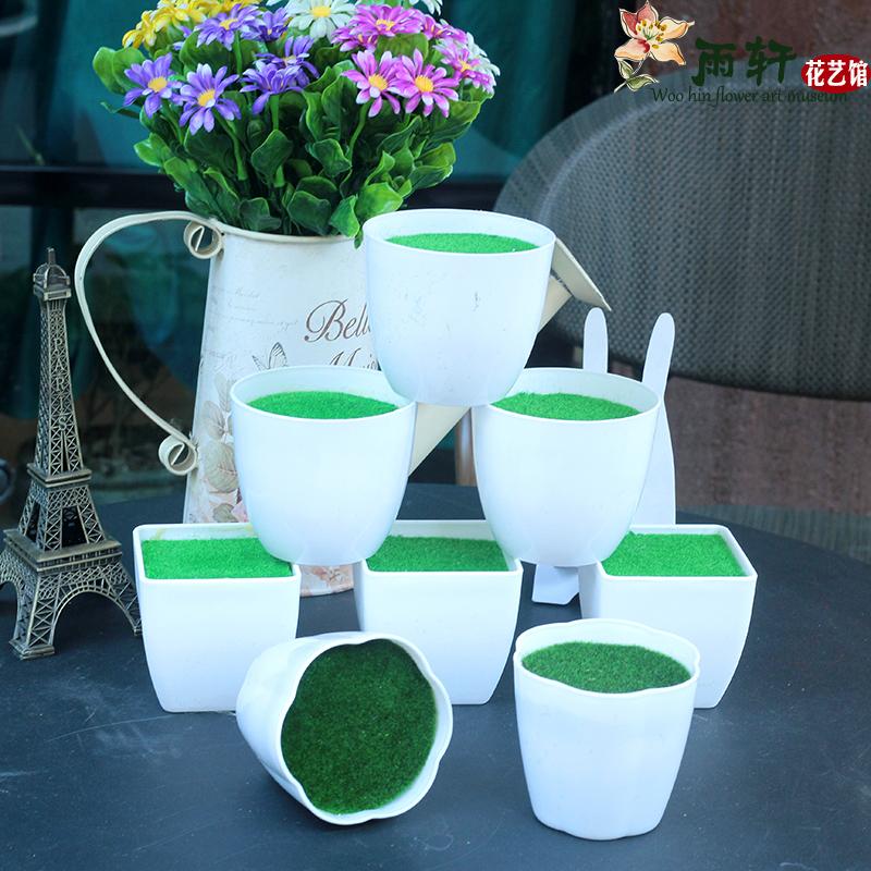 Собственный пена цветок грязь пластик цветочный горшок моделирование завод цветы роз устройство корзины ваза цветочная композиция цветы бассейн