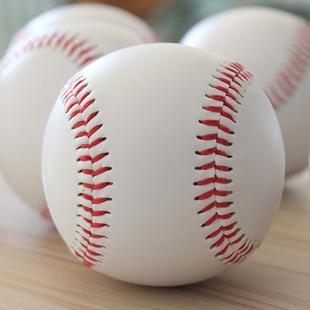 小学生10寸垒球9号棒球软硬实心儿童用棒球比赛训练打棒球的球类