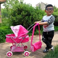 儿童玩具推车带娃娃宝宝女童女孩婴儿过家家玩具小推车玩具手推车