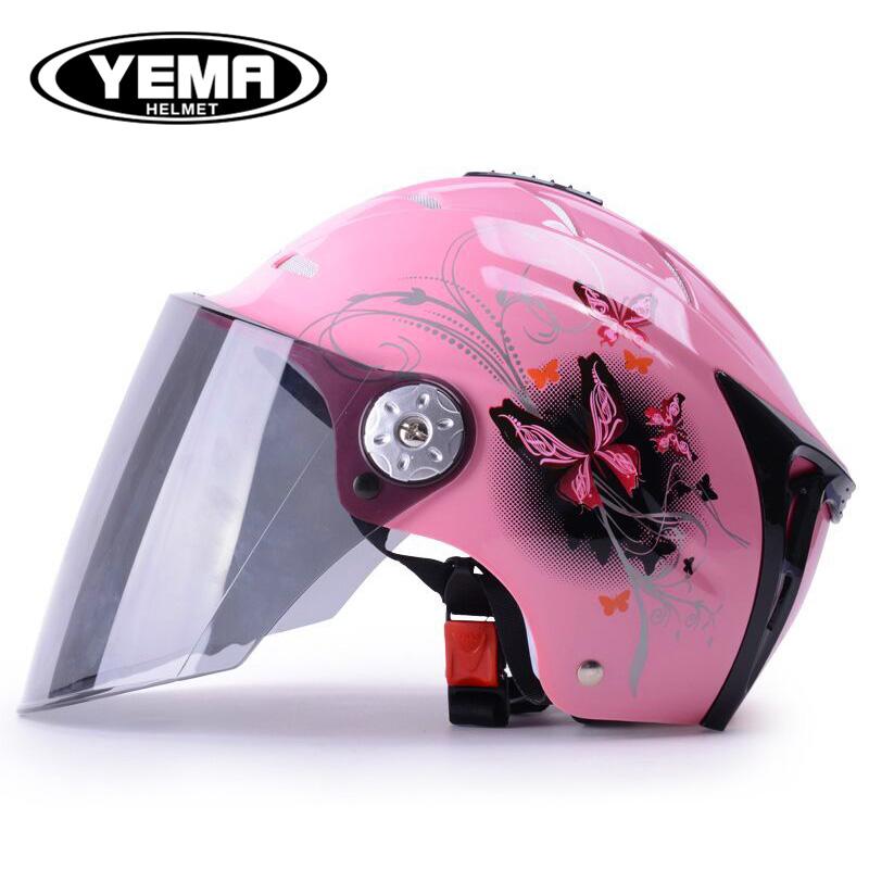 野马电动摩托车头盔女夏季防晒轻便式夏天安全帽四季通用防紫外线
