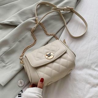 菱格链条小包包女包新款2021潮质感复古斜挎包夏天洋气休闲单肩包