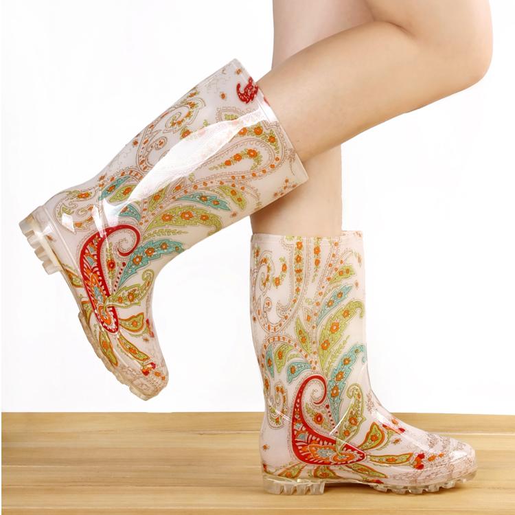Специальное предложение моды осень/зима дождя сапоги женщин сапоги высокая вода обувь снега сапоги плоской с теплые Ботинки лыжные ботинки