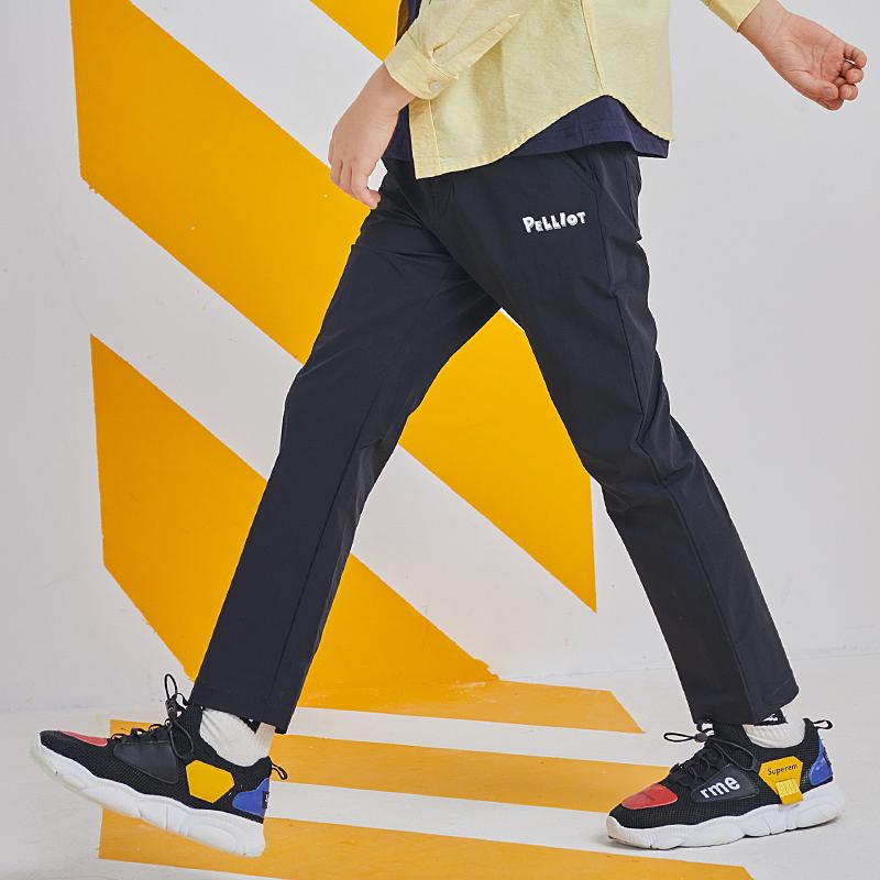 伯希和儿童速干裤夏季女童男童裤子(非品牌)