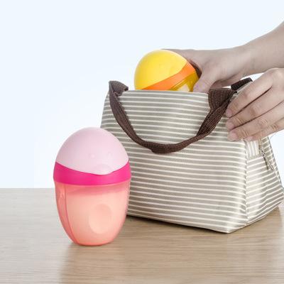 香港禾果奶粉盒便携宝宝外出大容量婴儿奶粉储存盒分格零食罐分装