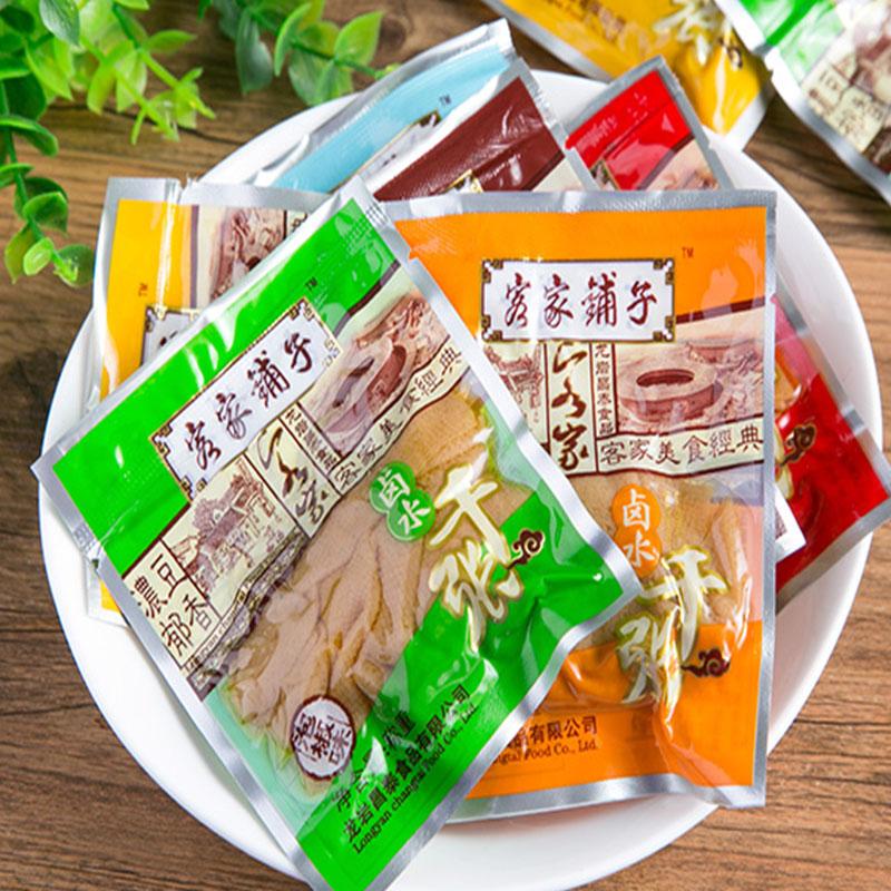 龙岩客家铺子卤水千张日日营豆腐干肉汁五香麻辣香辣味什锦装包邮