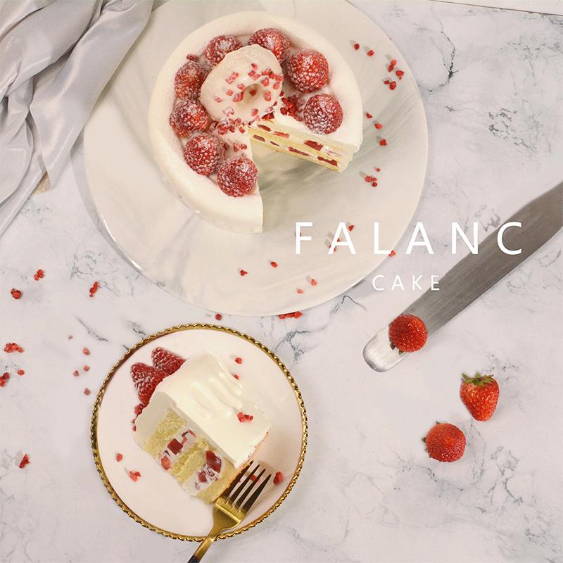淋面网红新鲜动物奶油草莓水果甜品ins生日蛋糕北京同城速递配送