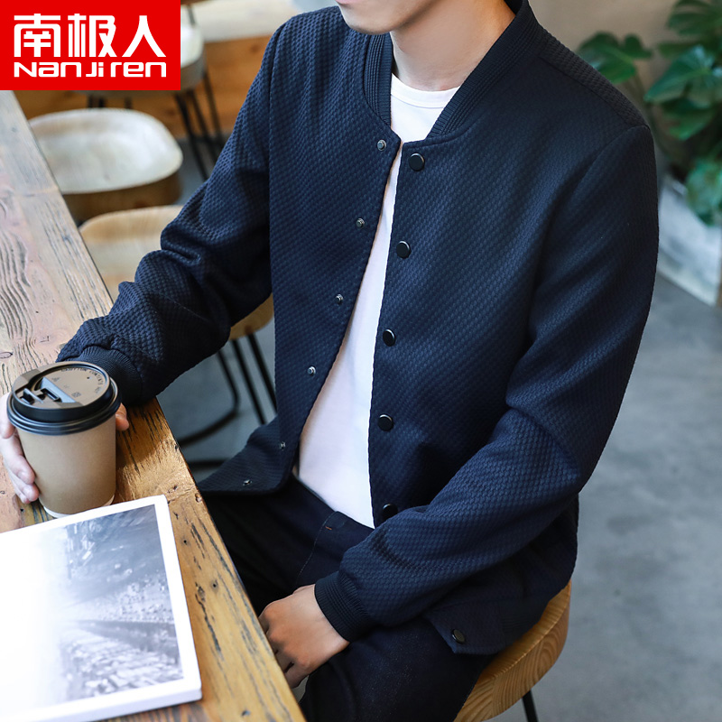 Antarctic men's coat 2020 new spring Korean Trend baseball suit handsome casual autumn jacket men's wear