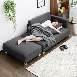 北欧简约现代单人懒人贵妃躺椅房间沙发床两用客厅卧室简易小户型