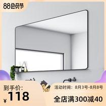 浴室镜壁挂卫浴卫生间洗手间防雾带灯蓝牙化妆led智能镜子触摸屏