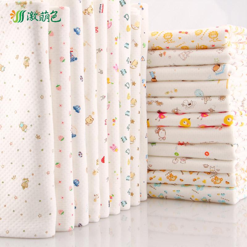 纯棉加厚宝宝A类保暖内衣坐垫布空气层棉布面料绗缝棉夹棉布料