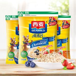 领10元券购买西麦纯1000gx3速即食无蔗糖燕麦片