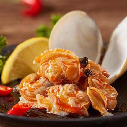 阜字号 麻辣花蛤即食下饭菜海味100g/罐装花甲休闲熟食蛤蜊小海鲜