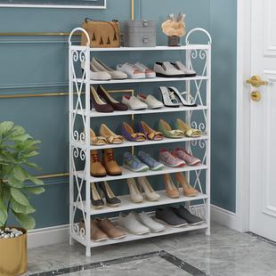 简易鞋架家用经济型宿舍防尘鞋柜省空间组装家里人门口小鞋架特价