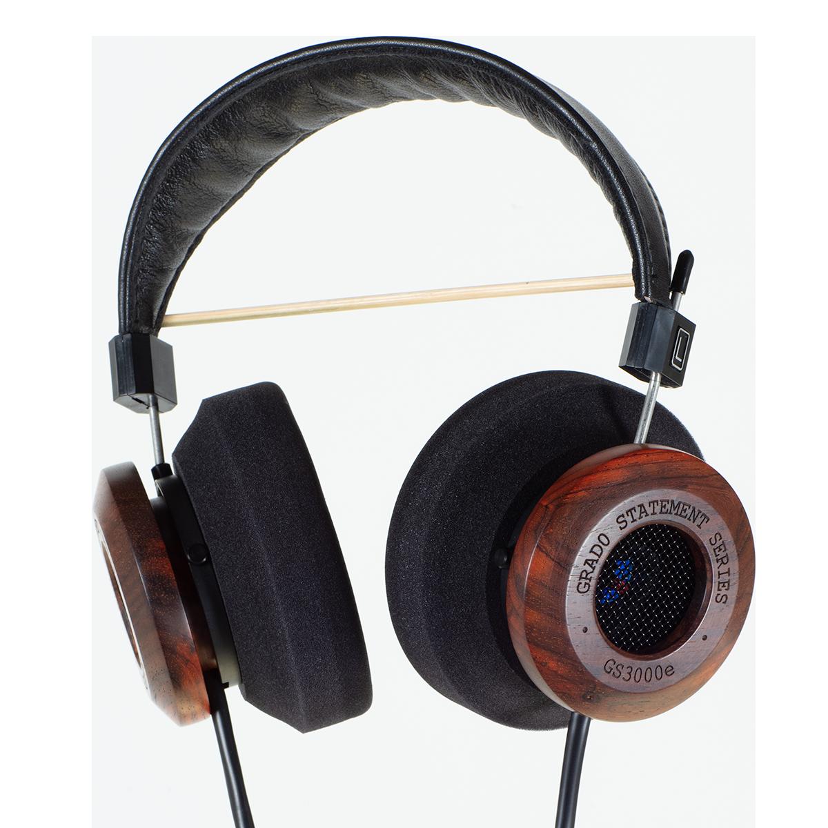【北京安润】歌德/GRADO GS3000e 头戴式平衡HIFI发烧木碗耳机