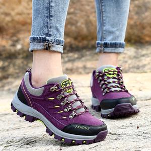 秋冬登山鞋女防水徒步鞋防滑运动旅游鞋户外鞋保暖男女鞋越野跑鞋
