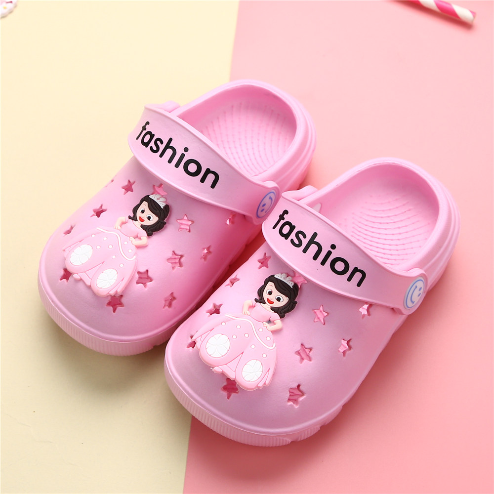 Sophia childrens sandals childrens hole shoes baby sandals breathable childrens garden shoes beach shoes summer