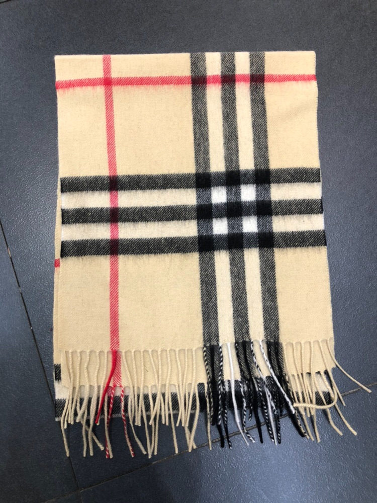 Inner Mongolia Pure Wool Plaid Scarf autumn and winter womens cashmere tassel neck for men and women