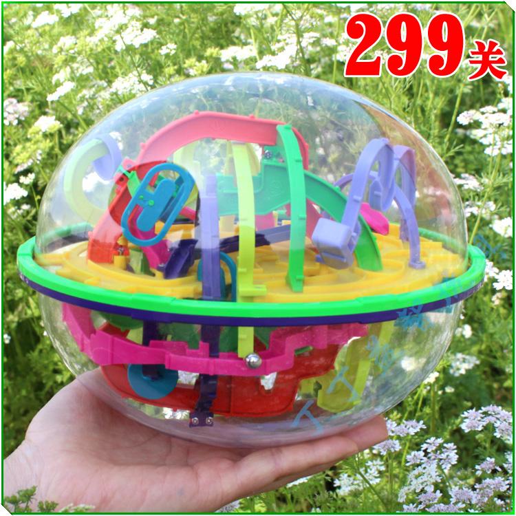 Любовь лабиринт шар магический шар иллюзия Чи мяч 299 Guan Yi разведки мяч игрушка трек через 3D-игры