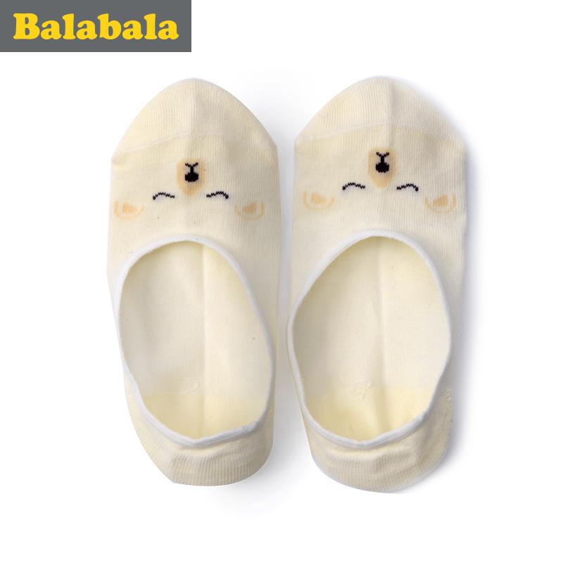 巴拉巴拉 兒童薄款短襪